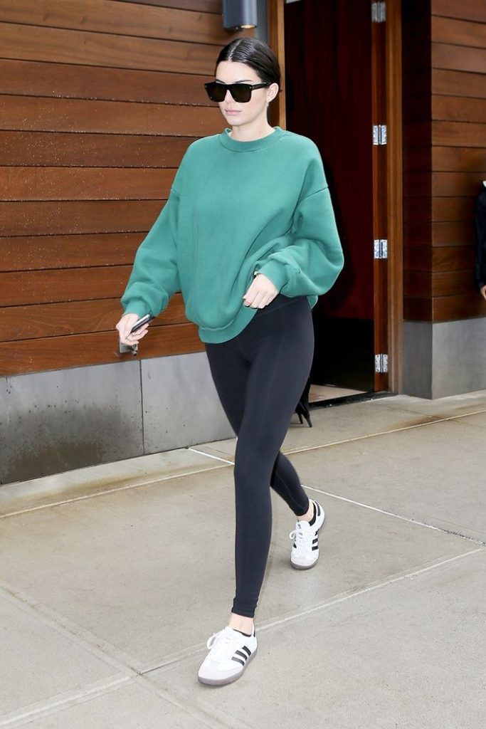 new_Fashion_trend_legging_with_shirt