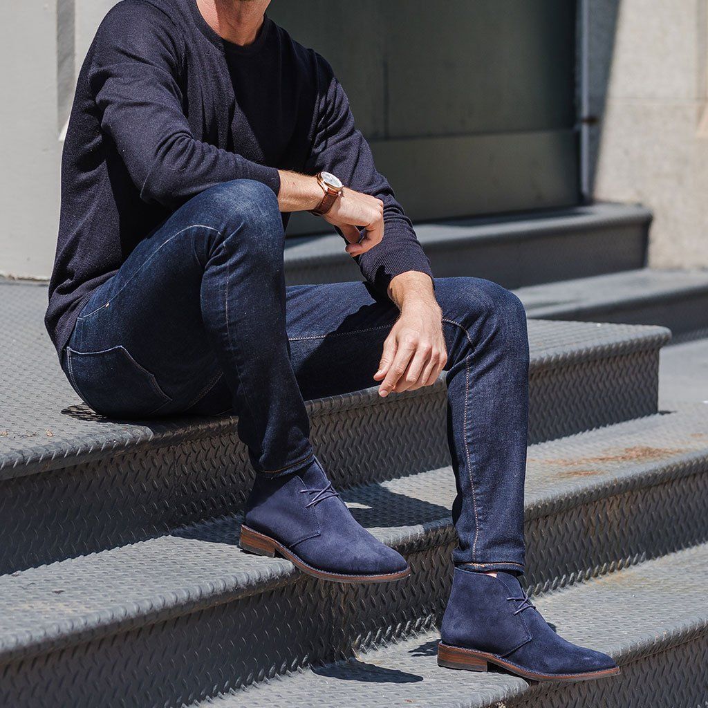 new_fashion_trend_Suede_Chukka_shoes_for_men