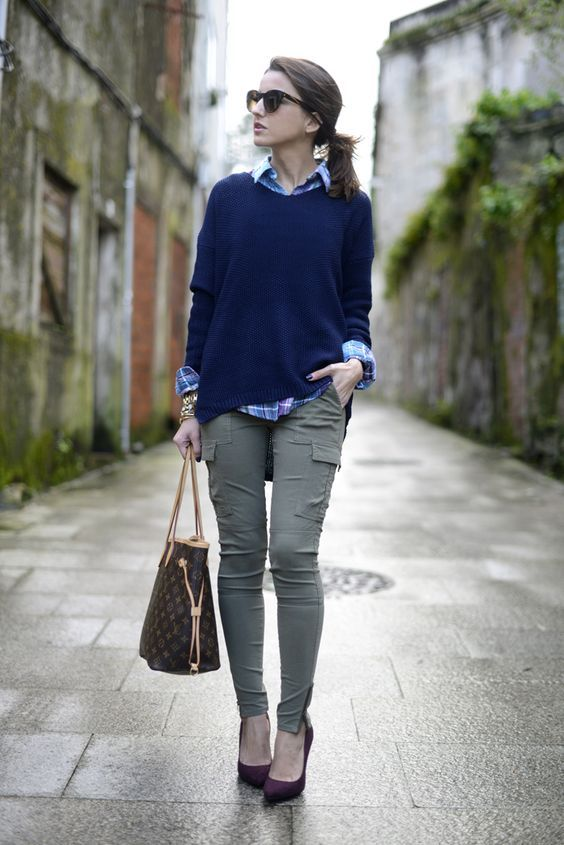 new_fashion_trend_cargo_pants_outfits_for_autumn