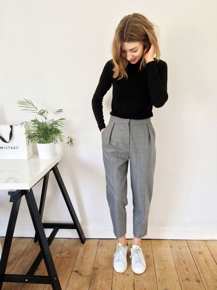 new_fashion_trend_cotton_pants_outfits_for_autumn