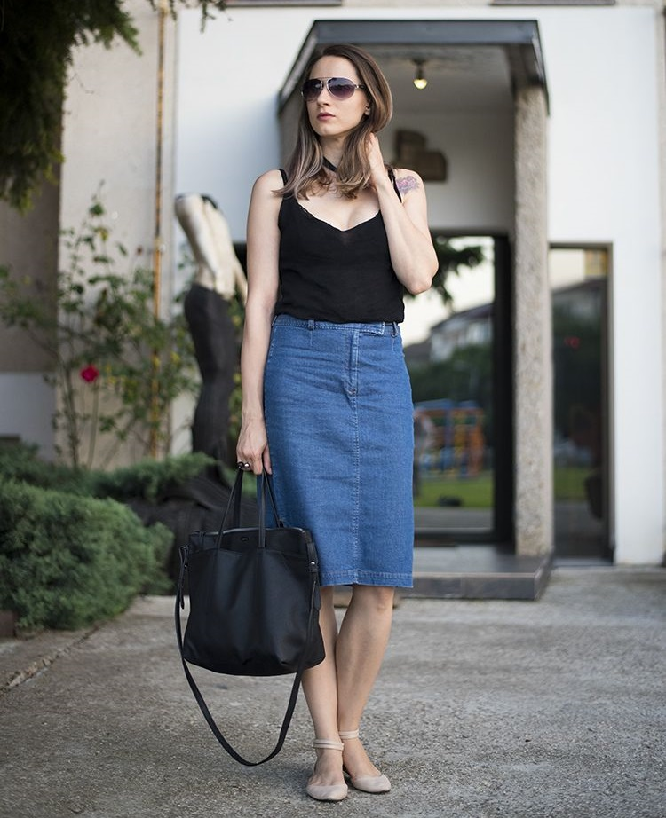 new_fashion_trend_denim_skirt_outfits_for_autumn