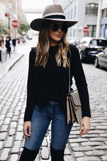 new_fashion_trend_fedora_hat_outfit_for_women