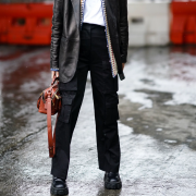 The Awesome Style of Cute Outfits with Black Cargo Pants