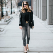 9 Cute Outfits with Black Jeans, Mix and Match for All Seasons