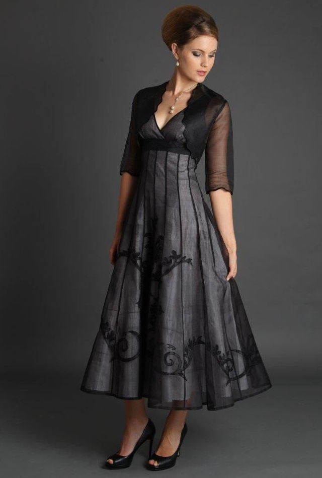 fashionable mother of the bride dresses silk