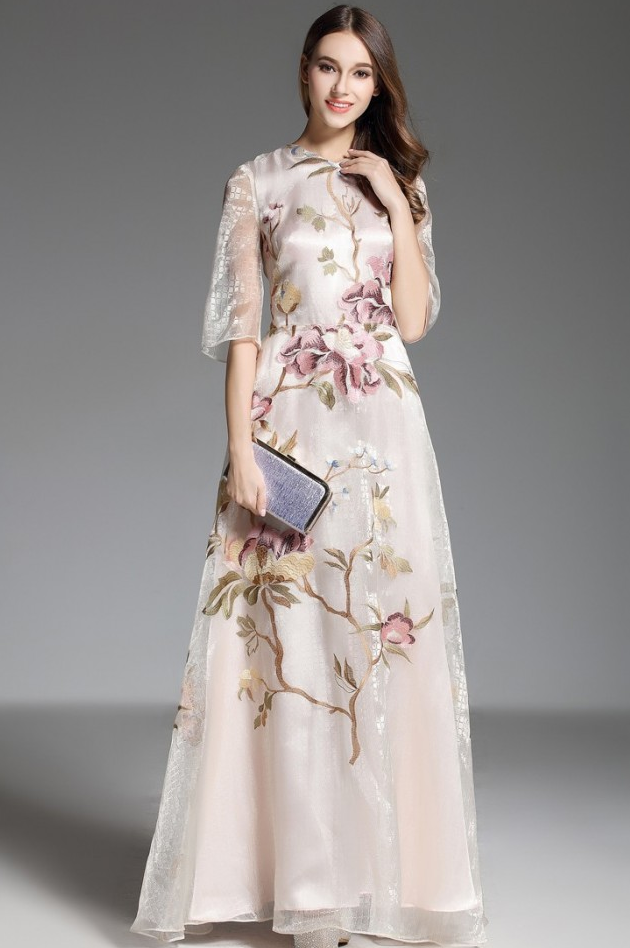 luxury mother of the bride dresses