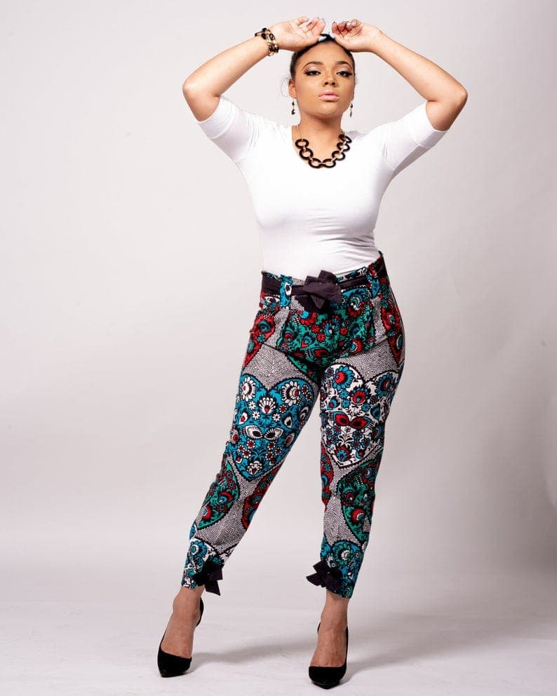 new_fashion_trend_ankara_pencil_pats_outfits_for_ladies