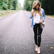 Cute Outfits with Black Jeans for Fashionable Style